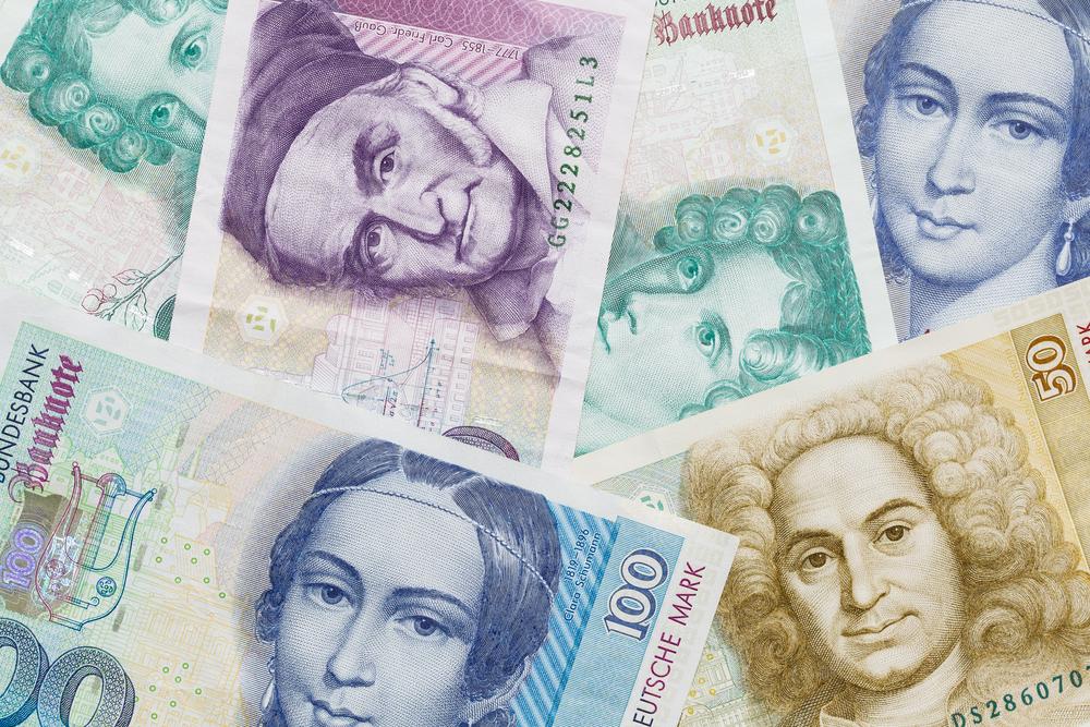 Deutsche Mark Banknoten