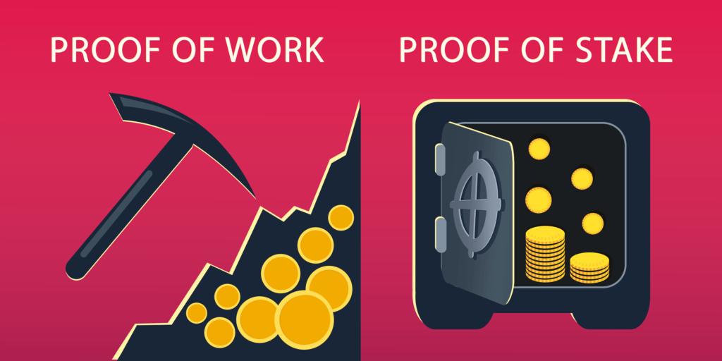 Proof of Work und Proof of Stake Unterschied